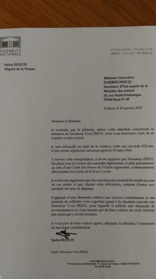 Courrier interpellation g darrieussecq